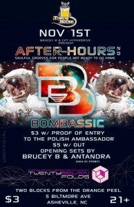 The Polish Ambassador Afterparty flyer